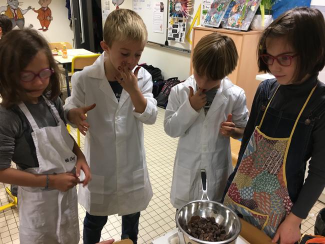 Grand concours de gâteaux au chocolat